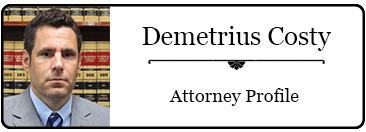 Demetrius Costy bio