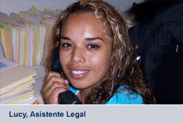 Lucy, Asistente Legal